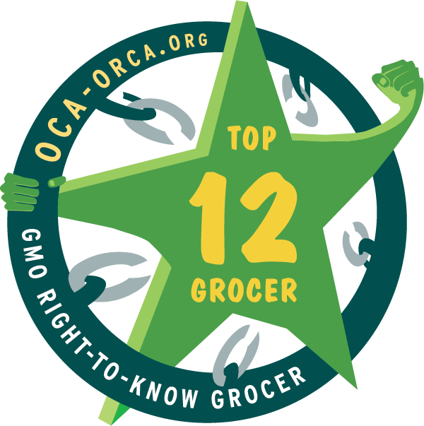 Top 12 GMO Right to Know Grocer